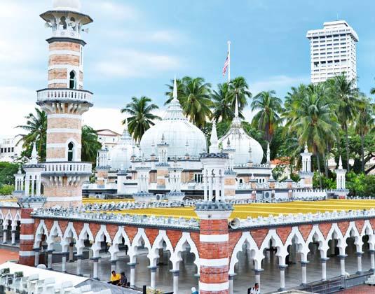 Jamek Mosque KL
