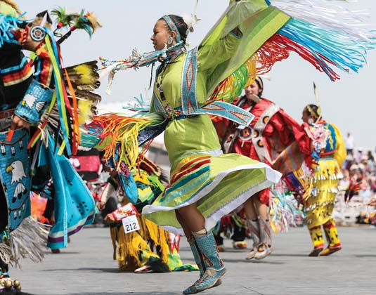 Calgary Stampede First Nation Dance