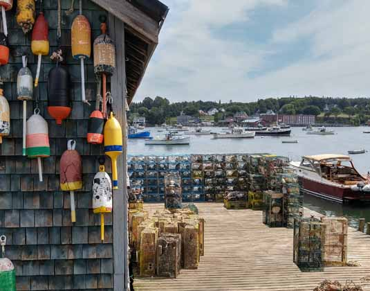 New England Lobster Fishing