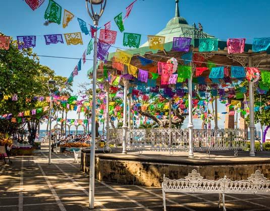 Main square - Puerto Vallarta