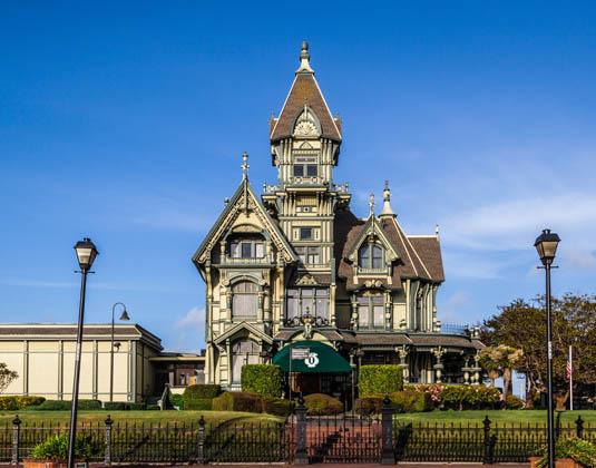 Carson Mansion in Eureka, California