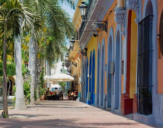 Historic Architecture in Mazatlan