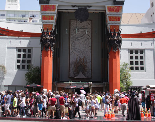 Chinese theatre, Los Angeles
