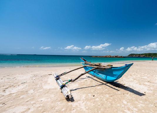 Nilaveli beach in Trincomalee