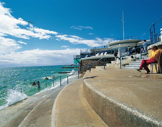Havre des Pas tidal pool, St Helier