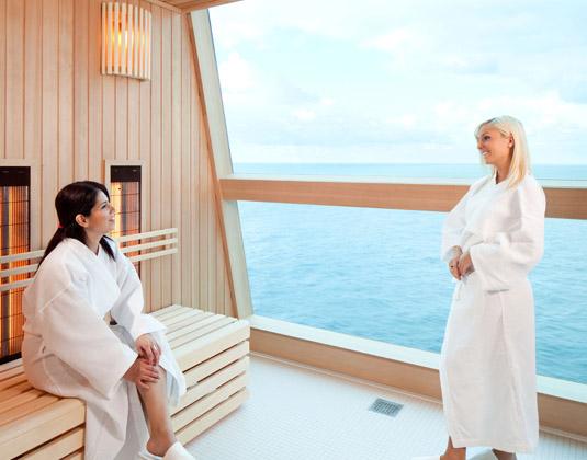 Celebrity Solstice Sauna