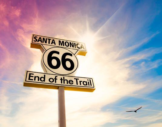 Sign at Santa Monica