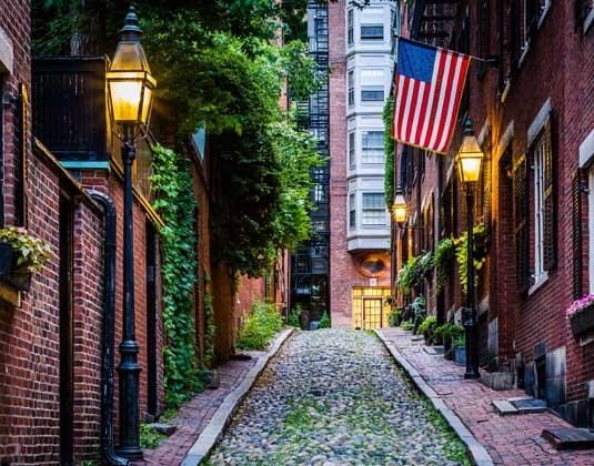 Boston, New York & Washington, DC