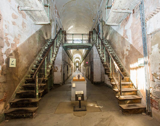 Eastern State Penitentiary stairs