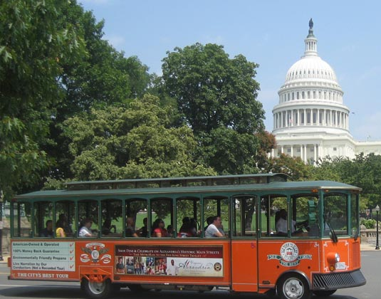Washington DC Old Town Trolley