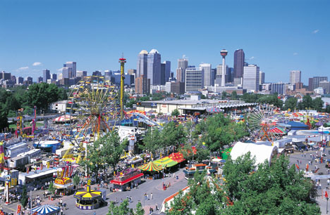 Calgary Stampede Exhibition Grounds